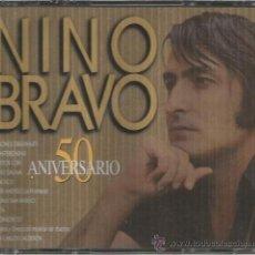 CDs de Música: NINO BRAVO - 50 ANIVERSARIO - CAJA CON 2 CD´S - NUEVA Y PRECINTADA. Lote 34015798