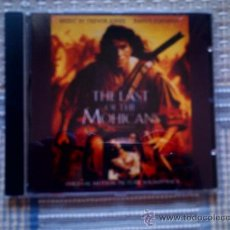CDs de Música: CD BSO: THE LAST OF THE MOHICANS (EL ULTIMO MOHICANO). Lote 34024396