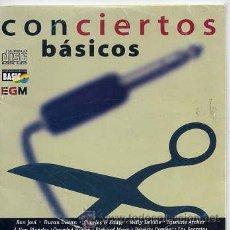 CDs de Música: CONCIERTOS BASICOS / SAMPLER 40 PRINCIPALES 10 TEMAS (CD CARTON). Lote 34038883