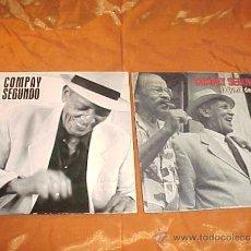 CDs de Música: COMPAY SEGUNDO. LA JUMA DE AYER. EL CAMISON DE PEPA. 2 CD PROMOCIONALES. Lote 34067267