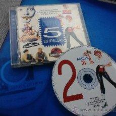 CDs de Música: 'CINE 5 ESTRELLAS', VOL. 2. LAS MEJORES BANDAS SONORAS ORIGINALES.. Lote 34078689