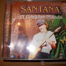 CDs de Música: SANTANA - EL CORAZON MANDA. Lote 34081021