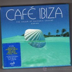 CDs de Música: DOBLE CD CAFÉ IBIZA, THE CREAM OF BALEARIC CUISINE (PARK LANE RECORDINGS, 2006). Lote 34081083