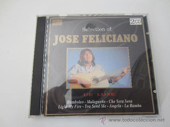 2 CD SELECTION OF JOSE FELICIANO (Música - CD's Latina)