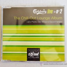 CDs de Música: CARLSBERG LIVE Nº2-THE CHILL-OUT LOUNGE ALBUM -PROMOCIONAL-(CDSINGLE 2002) ESPAÑA. Lote 34186530