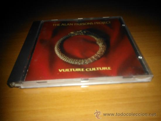 CD THE ALAN PARSONS PROJECT 1984 - VULTURE CULTURE (Música - CD's Melódica )