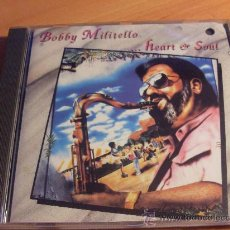 CDs de Música: BOBBY MILITELLO ( HEART & SOUL) CD 1993 USA (CD14). Lote 34461724