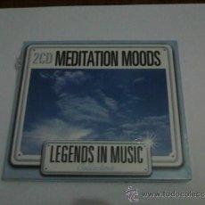 CDs de Música: MEDITATION MOODS ( 2 CD PRECINTADO ) . Lote 36143271