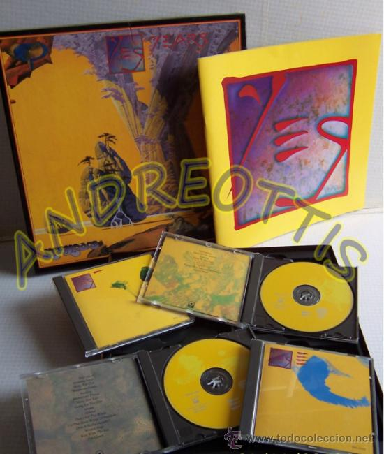 yesyears, yes years box 4 compact disc set - Comprar CDs ...