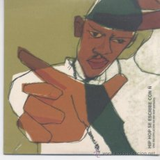 CDs de Música: HIP HOP SE ESCRIBE CON Ñ(HIPPALY,7 NOTAS 7 COLORES Y OTROS) 15 TEMAS FORMATO CD SINGLE PROMO. Lote 34337883