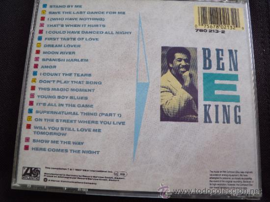 CDs de Música: Ben E. King – The Ultimate Collection: Stand By Me - Foto 2 - 34366204