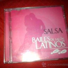 CDs de Música: CD ORIGINAL SALSA BAILES DE SALON LATINOS PASO A PASO 14 TEMAS-DESCATALOGADO. Lote 34352672