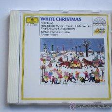 CDs de Música: WHITE CHRISTMAS - BOSTON POPS / ARTHUR FIEDLER - CANCIONES NAVIDAD - CD. Lote 34359926