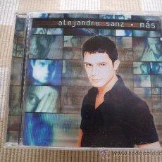 CDs de Música: ALEJANDRO SANZ – MÁS . Lote 34365595