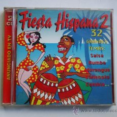 CDs de Música: FIESTA HISPANA 2 - 2 CDS - 32 TEMAS - CD. Lote 34386616