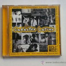 CDs de Música: CARÁCTER LATINO - DUCA-2 MUSIC - 18 TEMAS - CD. Lote 89659292