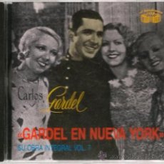 CDs de Música: CD CARLOS GARDEL - GARDEL EN NUEVA YORK. Lote 146141194