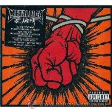 CDs de Música: METALLICA - ST. ANGER (DIGIPACK LIMITED EDITION CD + DVD) (2003). Lote 34427083