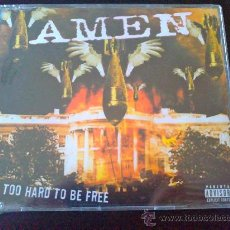 CDs de Música: AMEN, TOO HARD TO BE FREE - CD SINGLE 4 TÍTULOS - NUEVO, AÚN PRECINTADO. Lote 34434523