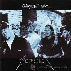 CDs de Música: METALLICA - GARAGE INC. (1998). Lote 34441370