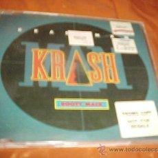 CDs de Música: KRASH MAN. BOOTY MACK. CD PROMOCIONAL. ISLAND RECORDS UK 1993. Lote 34442342