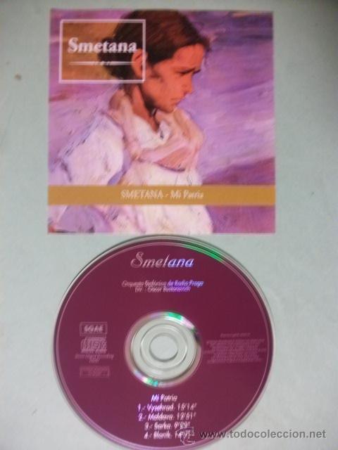 SMETANA MI PATRIA CD (Música - CD's Clásica, Ópera, Zarzuela y Marchas)