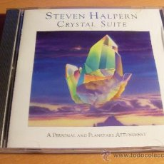 CDs de Música: STEVEN HALPERN ( CRYSTAL SUITE) CD 1988 USA (CD14). Lote 34533633