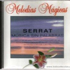 CDs de Música: CD CONJUNT INSTRUMENTAL J. HAMERSTEHL : SERRAT , MUSICA SIN PALABRAS . Lote 34498776
