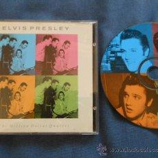 CDs de Música: ELVIS PRESLEY CD THE MILLION DOLLAR QUARTET JERRY LEE LEWIS CARL PERKINS JOHNNY CASH ROCKABILLY 1990. Lote 34555435