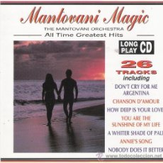 CDs de Música: MANTOVANI MAGIC - ALL TIME GREATEST HITS. Lote 34585947