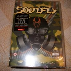 CDs de Música: DVD SOULFLY - THE SONGS REMAINS INSANE – MAX CAVALERA – SEPULTURA. Lote 34598621