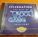 CDs de Música: KOOL & THE GANG CELEBRATION THE BEST OF 1979 - 1987 CD ALBUM 1994 17 TEMAS JAMES J. T. TAYLOR. Lote 34616918