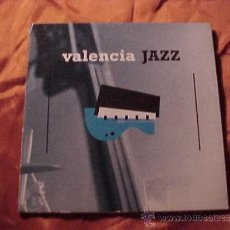 CDs de Música: VALENCIA JAZZ. 12 TEMAS. CD PROMOCIONAL. Lote 34617224