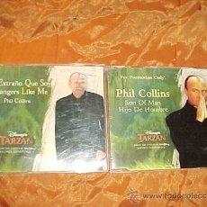 CDs de Música: PHIL COLLINS. STRANGERS LIKE ME. SON OF MAN. BSO TARZAN. 2 CD PROMOCIONALES. Lote 34617776