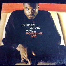 CDs de Música: LYNDEN DAVID HALL, FORGIVE ME - CD SINGLE 3 TEMAS. Lote 34631847
