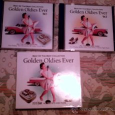 CDs de Música: CD GOLDEN OLDIES EVER (BEST OF THE BEST COLLECTION)(DOBLE CD). INCLUYE CANCIONES DE:. Lote 34648881