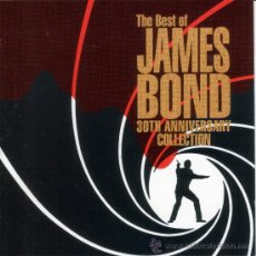 CDs de Música: B.S.O. - THE BEST OF... JAMES BOND (30TH ANNIVERSARY COLLECTION) - CD (1992). Lote 34653050