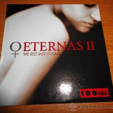 CDs de Música: ETERNAS II THE BEST JAZZ VOCALS DIANA KRALL NINA SIMONE CD SINGLE PROMO CADENA 100 2003 5 TEMAS . Lote 34677804