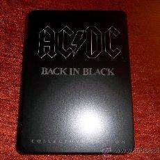 CDs de Música: AC/DC BACK IN BLACK METAL BOX SET. Lote 34687583