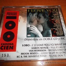 CDs de Música: VAN MORRISON BROWN EYED GIRL I LOVE YOU CD SINGLE PROMO ESPAÑA CADENA 100 5 TEMAS NUMERADO 153 LOBO . Lote 34696473
