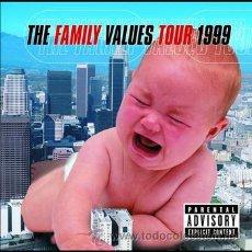 CDs de Música: FAMILY VALUES TOUR '99 (2000). Lote 34753195