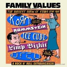 CDs de Música: FAMILY VALUES TOUR '98 (1999). Lote 34753779