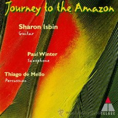 CDs de Música: JOURNEY TO THE AMAZON - SHARON ISBIN - PAUL WINTER - THIAGO DE MELLO CD. Lote 34785540