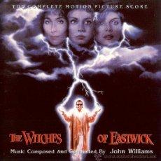 CDs de Música: B.S.O. ORIGINAL * LAS BRUJAS DE EASTWICK * (SCORE COMPLETO/ED. LTDA.). JOHN WILLIAMS. NUEVA. Lote 189257767