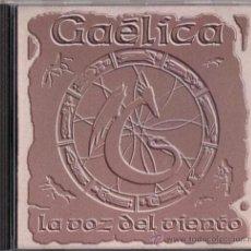 CDs de Música: GAÊLICA - LA VOZ DEL VIENTO - CD - DELICIAS DISCOGRÁFICAS 1997. Lote 34888066