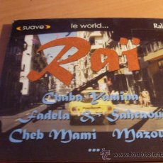 CDs de Música: RAI ( RAI 2 ) SUAVE LE WORLD CD 2001 (CD15). Lote 34953768
