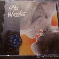 CDs de Música: CD- 9 SEMANAS Y MEDIA.. Lote 34996373