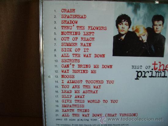 CDs de Música: THE PRIMITIVES ---- BEST OF - Foto 2 - 34989856