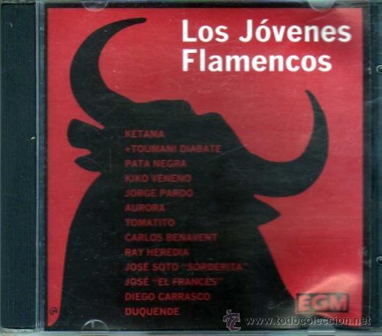 LOS JÓVENES FLAMENCOS (Música - CD's Flamenco, Canción española y Cuplé)