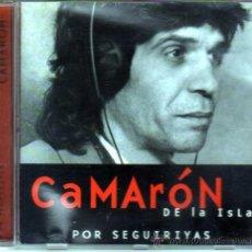 CDs de Música: CAMARON DE LA ISLA POR SEGUIRIYAS. Lote 35051048